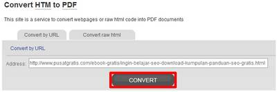 HTML to PDF Online