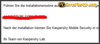 Lisensi Kaspersky Mobile Security 9