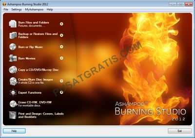 Ashampooo Burning Studio 2012 Gratis