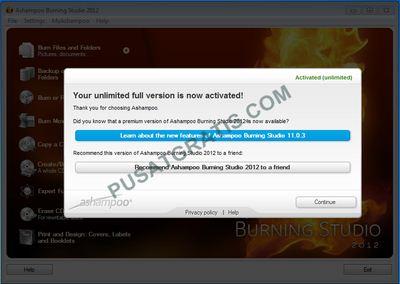 Cara Mendapatkan Ashampooo Burning Studio 2012 Secara Gratis dan Legal