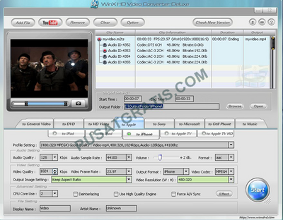 WinX HD Video Converter Deluxe Gratis