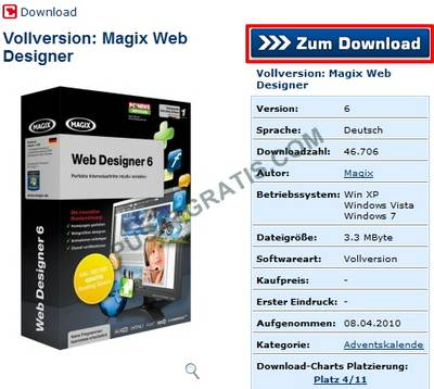 Download Xara Web Designer 6