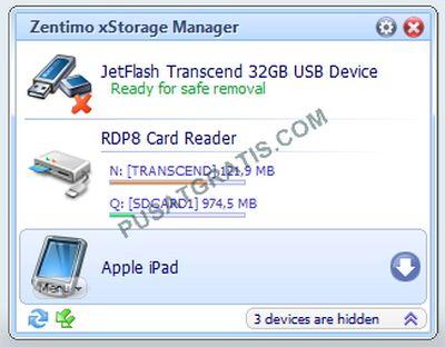 Menjaga Keawetan Perangkat Portabel dengan Zentimo xStorage Manager