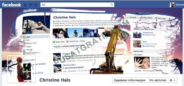 Cover Timeline Christine Hals