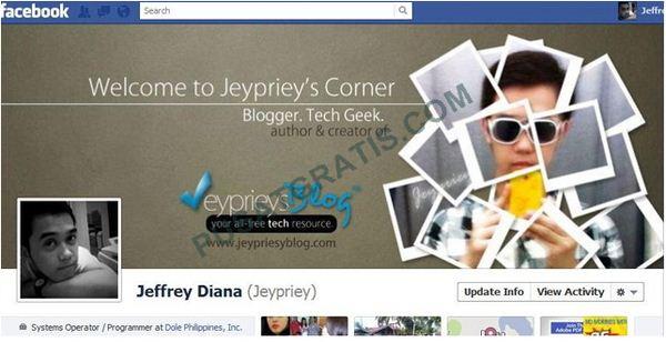 Cover Timeline Jeffrey Diana