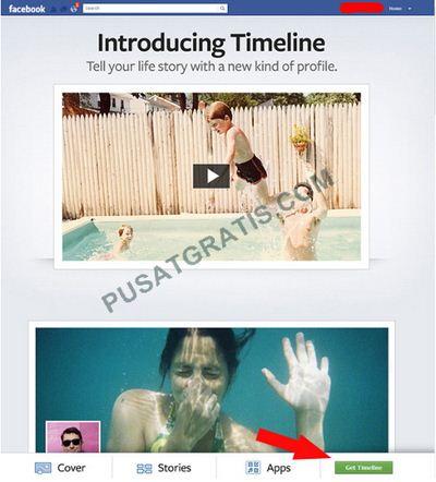 cara mengaktifkan facebook timeline