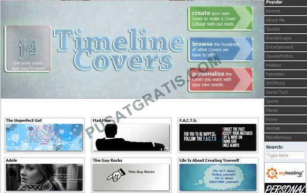 Membuat Cover Timeline dengan Aplikasi Timeline Covers