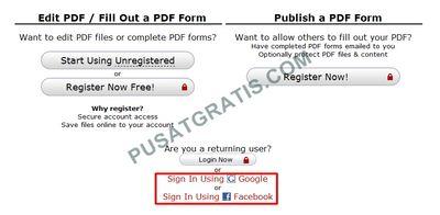 PDF editor online