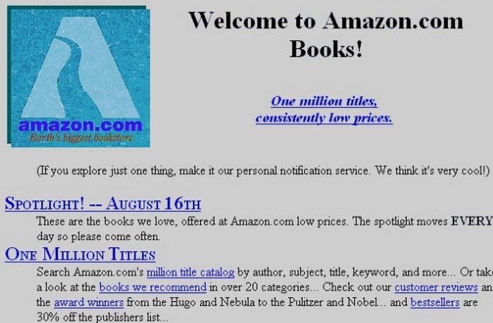 Tampilan Awal Amazon