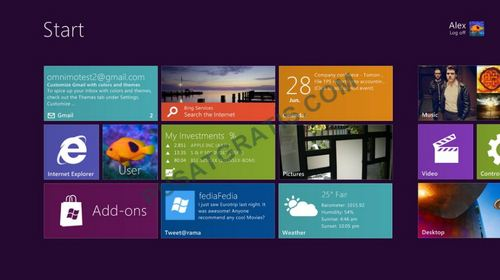 Tema Windows 8