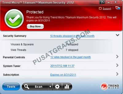 Download Antivirus Trend Micro Titanium 2012
