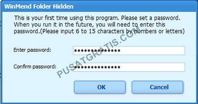 Cara menyembunyikan folder dengan WinMend Folder Hidden