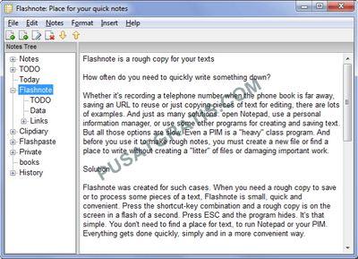 FlashNotes : Aplikasi Note yang Sangat Mempermudah Aktivitas Saya