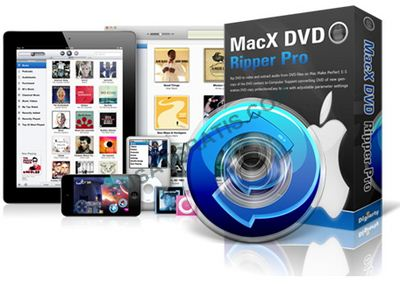 Dapatkan Software DVD Rip : MacX iPhone iPad DVD Ripper