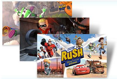 Kinect Rush : A Disney - Pixar Adventure