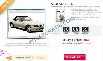 Download Xara Xtreme 5 Senilai $79 secara Gratis