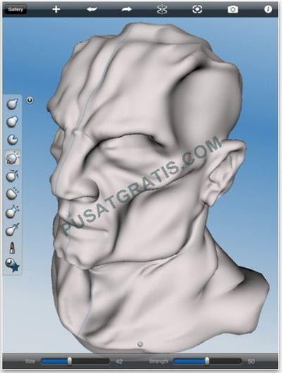 Dapatkan 123D Sculpt : Aplikasi Memahat Virtual untuk iPad