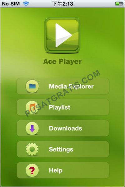 AcePlayer : All in One Media Player untuk iPhone, iPod dan iPad