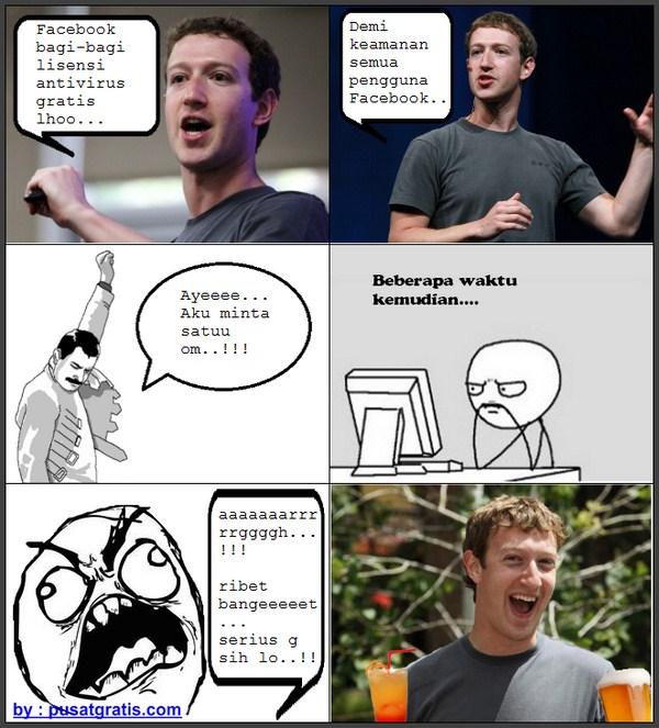 Facebook Bagi-Bagi Lisensi 5 Antivirus Secara Gratis