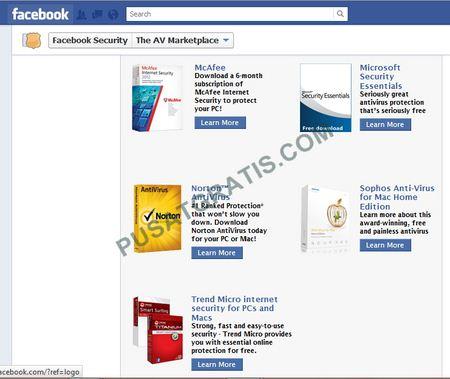 Facebook Bagi-Bagi Lisensi 5 Antivirus Secara Gratis..Mau?