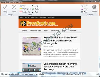 Cara Screenshot Desktop Mudah dan Cepat Menggunakan Shotty