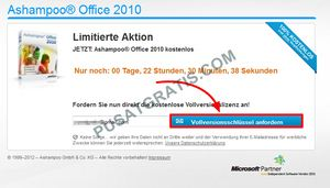 isikan alamat email anda dan klik tombol biru besar