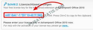lisensi Ashampoo Office 2010