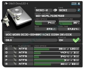 Dapatkan O&O DriveLED 4 Sebelum Hardisk Rusak