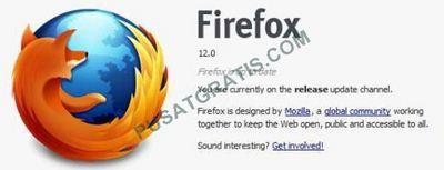 Mozilla Firefox Terbaru : Jadilah Pengguna Firefox 12 Final yang Pertama