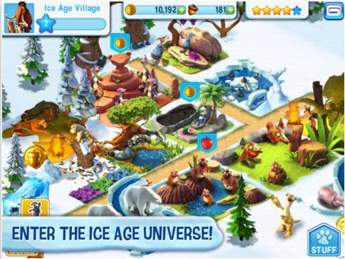 Dapatkan Game Ice Age Seru untuk iPhone, iPad dan Android