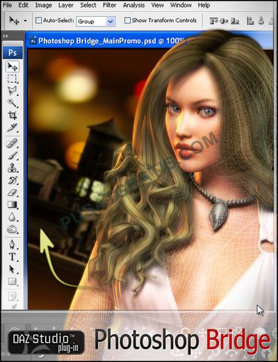 Download 3D Photoshop Bridge Senilai $199 Secara Gratis dan Legal