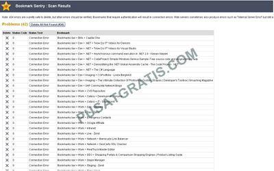 Scan Link Bookmark Browser Anda secara Otomatis