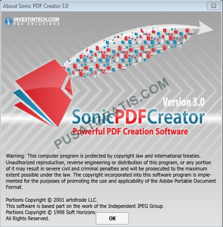 Download Gratis Sonic PDF Creator