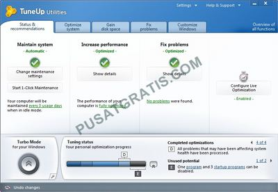 Download TuneUp Utilities 2011 Secara Gratis dan Legal