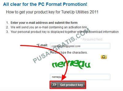 Isikan alamat email dan kode capcha