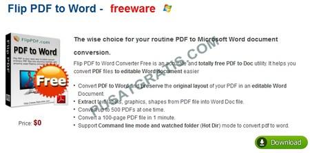FlipPDF_to_Word0