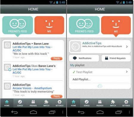 MusicBunk – Jejaring Sosial Guna Berbagi Musik [untuk Android & iPhone]