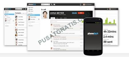 Mengakses Android dari Komputer dengan Phonedeck