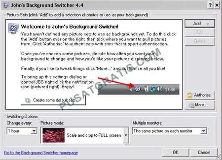 Download John's Background Switcher