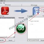 First PDF: Software untuk Mengubah PDF ke Word dan Text