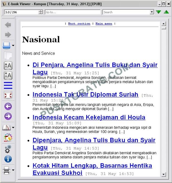 Calibre: Menjadikan Artikel RSS Feed sebagai Ebook yang Mudah Dibaca