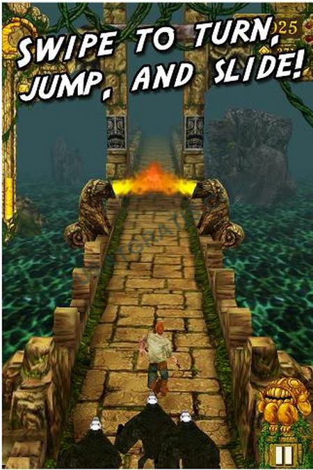 Game Arcade Gratis untuk Android anda: Temple Run