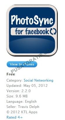 PhotoSync for Facebook