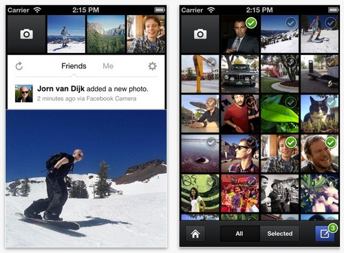 Facebook Camera : Aplikasi Facebook Terbaru yang Mirip Instagram!