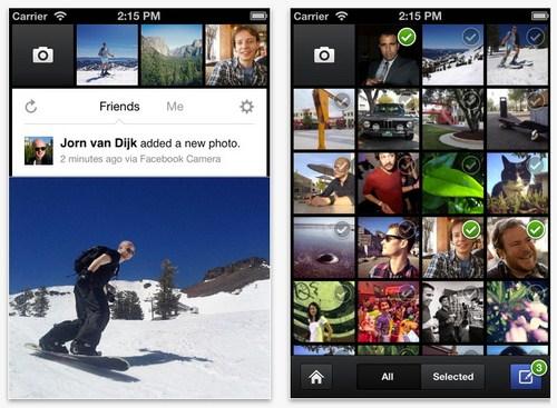 Facebook Camera : Aplikasi Facebook Terbaru yang Mirip Instagram!