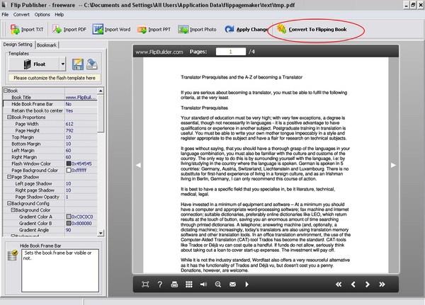 Cara Membuat Ebook 3 Dimensi dengan Flip Pages Worker
