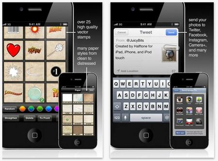 Membuat Komik dari Foto Melalui iPhone dan iPad dengan Halftone