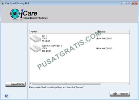 Download iCare Format Recovery untuk Mengembalikan Data yang Terformat