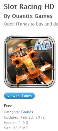 Slot Racing HD