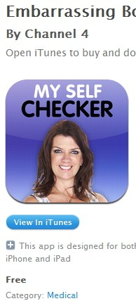 Embarrasing Bodies My SelfChecker